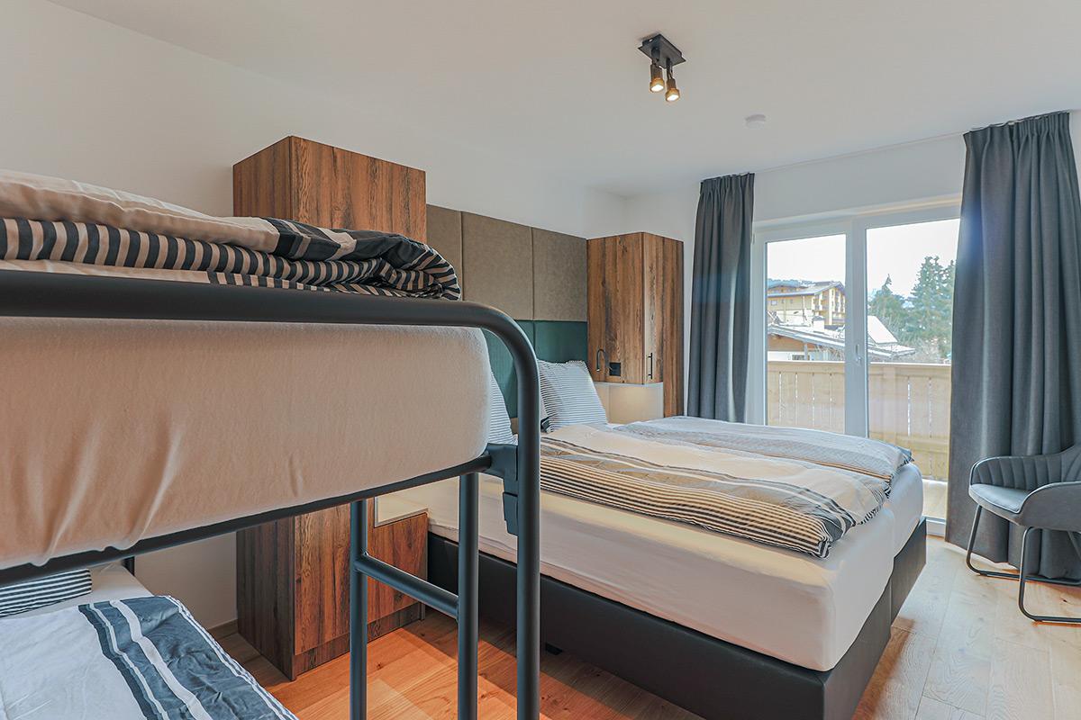 Brixen im Thale slaapkamer 2